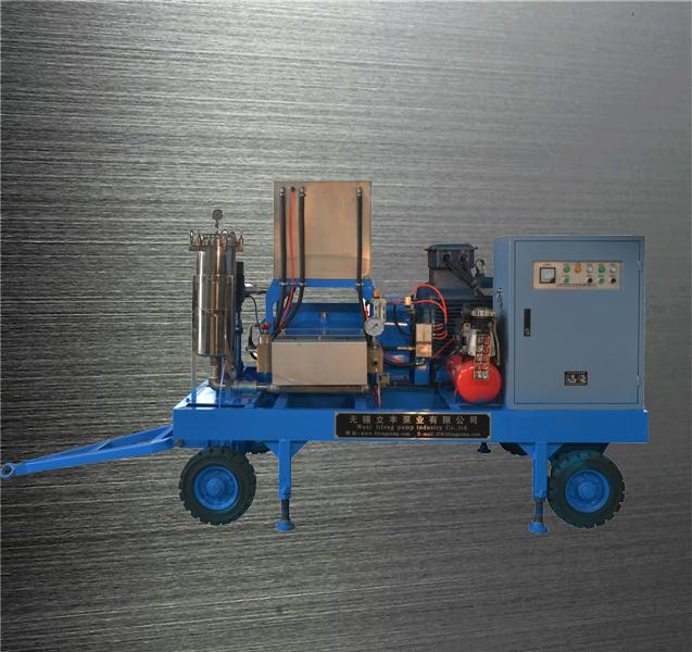 10000psi high pressure water jet cleaner high pressure cleaner motor driven high pressure washer