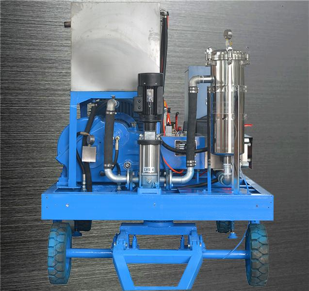 137~2780bar 33~528l/m high pressure triplex plunger cleaning high pressure cleaner hydroblasting equipment