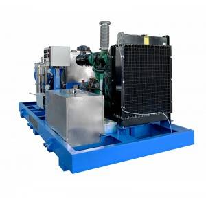 High pressure water jet cleaner sewer cleaning machine sewage pipe cleaning