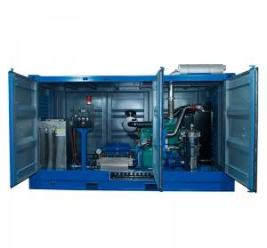 offshore high pressure water blasting machine