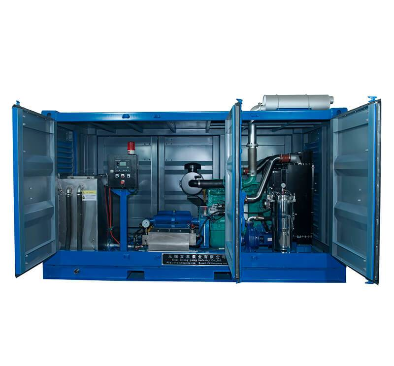 offshore high pressure water blasting machine Featured Image