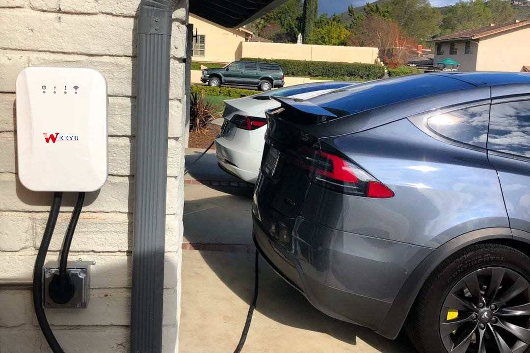 What's the chance from 500,000 Public EV chargers in USA by 2030?