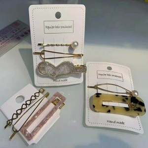 fashion hair clip set