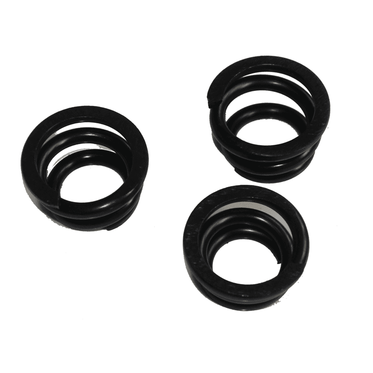Automobile brake pump valve return spring