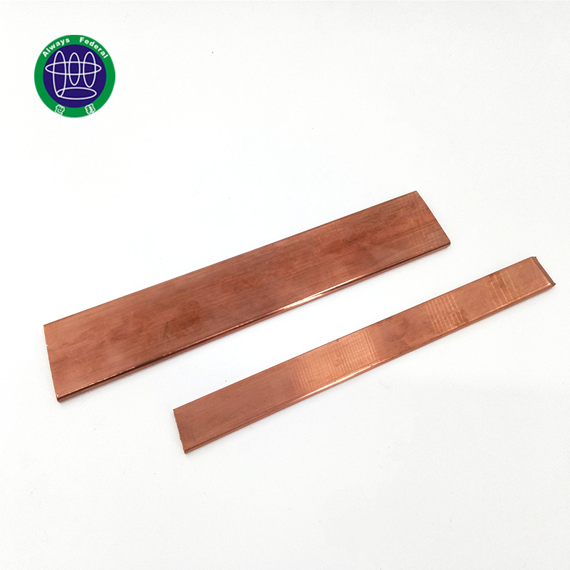 Gold Supplier China copper grounding bus bar