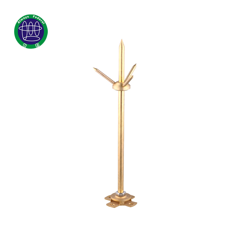 Copper Lightning Arrester Rod for Lightning protection