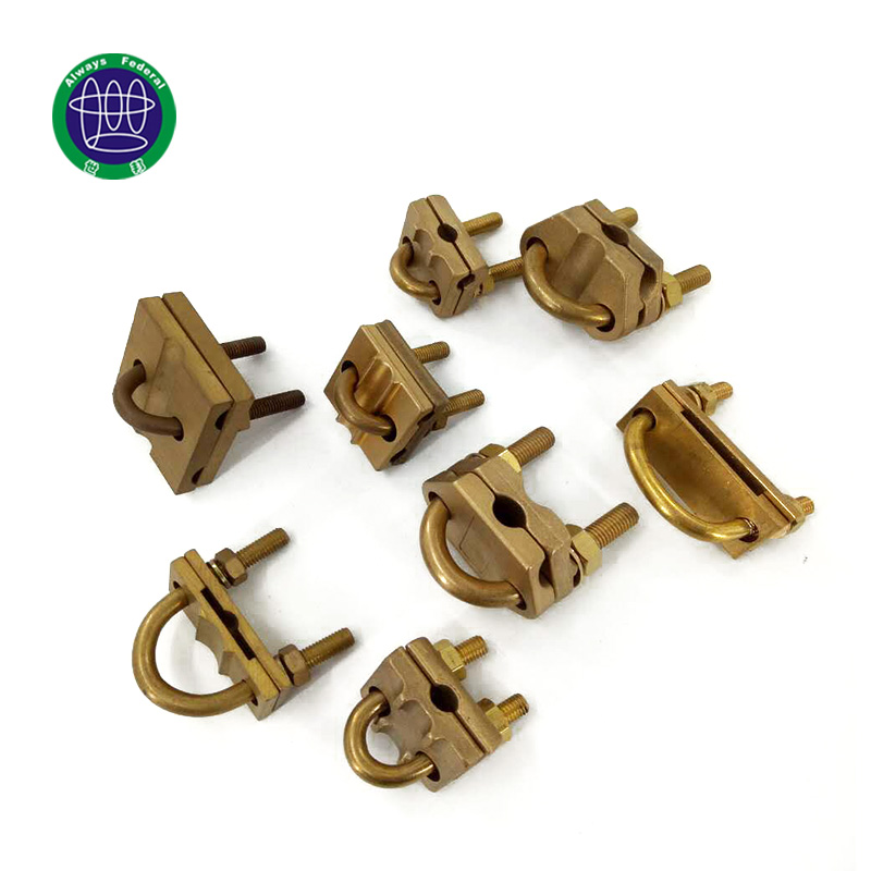 Copper Clad Steel Grounding Clamps Manufacturer