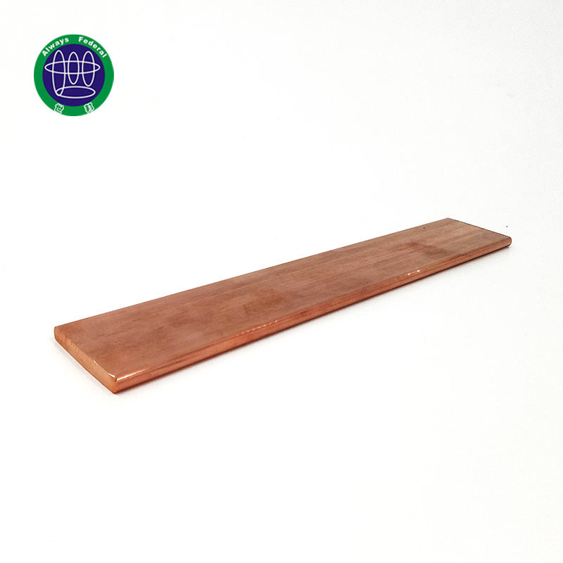 Hot Sales Earthing Pure Copper Flat Bar