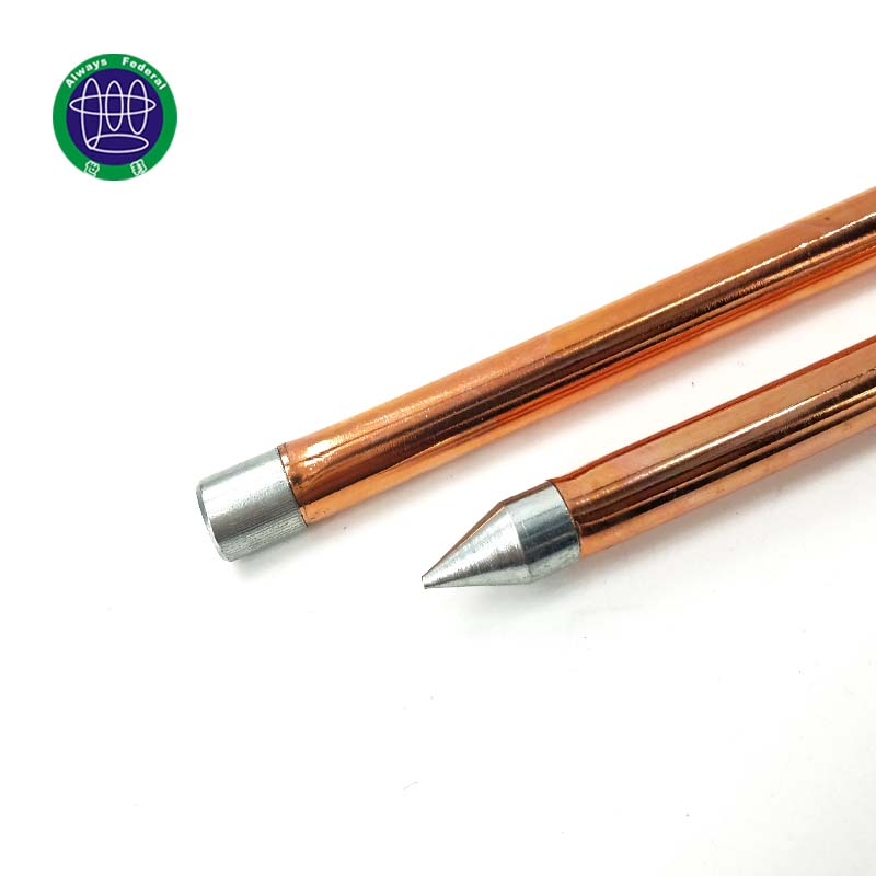 2018 New Products Best Copper Claded Non Magnetic Steel Earth Rod Price