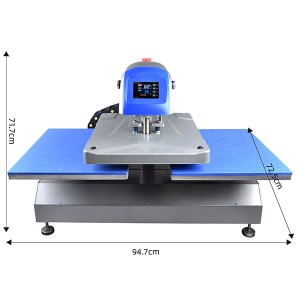 40x50cm Prime Dual Plates Fully Automatic Electric Heat Transfer Printing Machine
