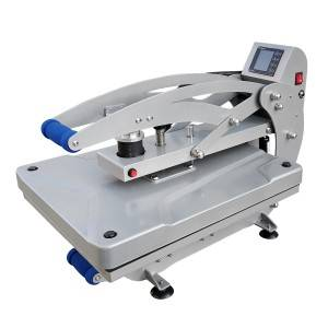 40x50cm Portrait Auto-open Heat Press Machine W/Slide-out Base