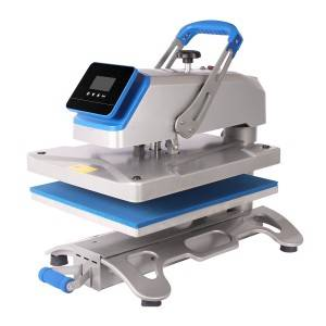 16×20 Swing Away Heat Press Transfer Printng Machine With Slide Out Drawer