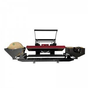 25x100cm Semi Auto open Sublimation Lanyard Heat Press Printing Machine