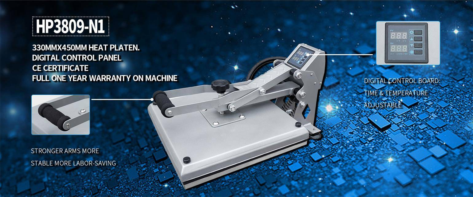 How to Use Heat Press Machine: Step by Step