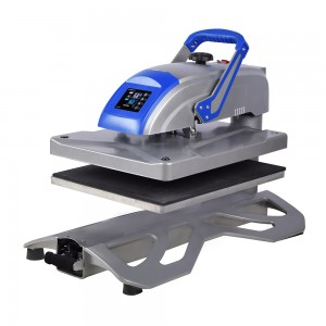 40x50cm Swing-away Manual Heat Press Machine W/Slide-out Drawer
