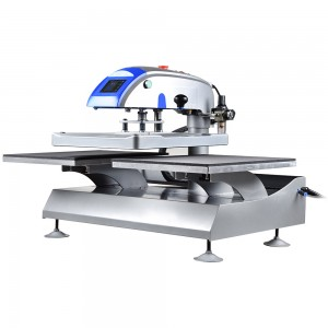 Prime Dual Plates Shuttle Pneumatic Heat Transfer Printing Machine