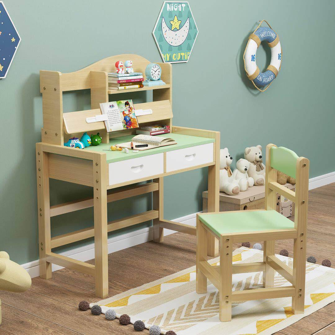 Image of: China Wooden Desk Chair Set For Kid Family Manufacturer And Supplier Xinda