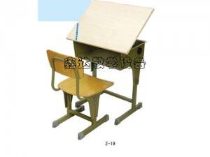 foldable students desk chair