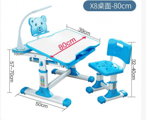 X8 desk chair set for kid family