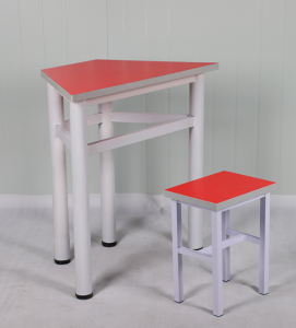 Kindergarten hexagonal table, split six-sided table and chair set, training tutorial, school