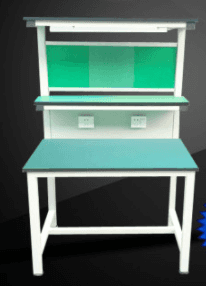 High Quality for Study Table For Kids - lab table with With shelf and lighting – Xinda