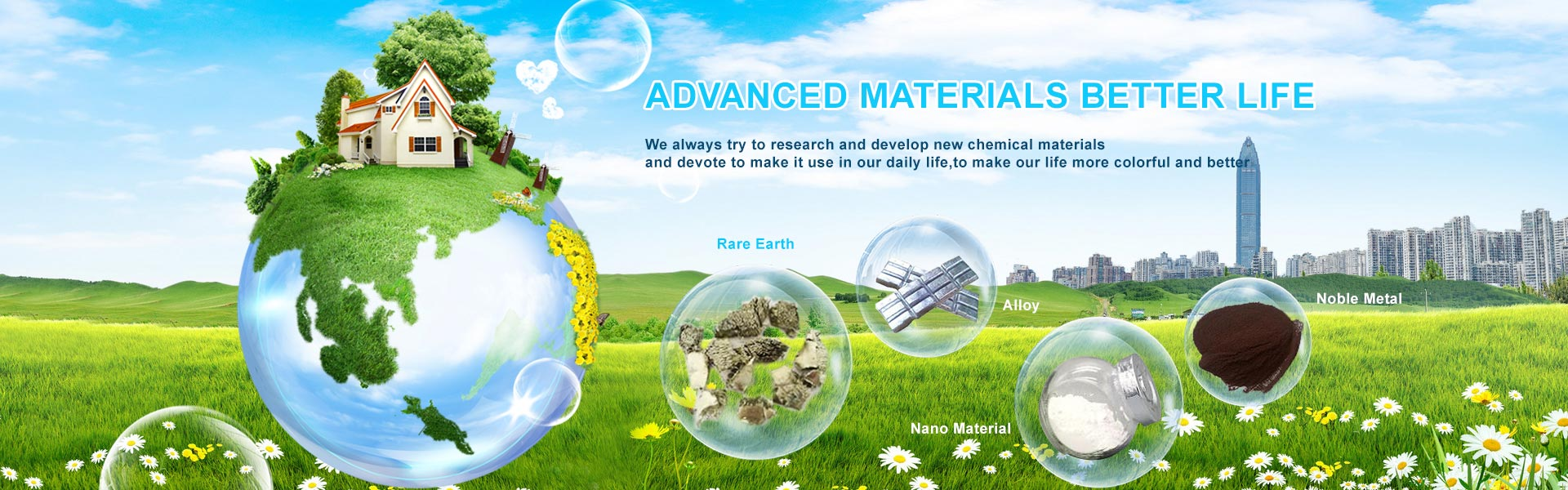 ADVANCED MATERIALS BETTER LIFE