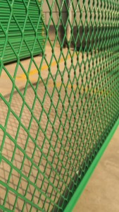 expanded metal mesh wall panels