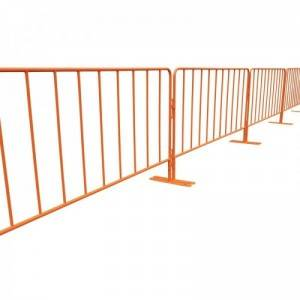 China factory temporary fence garden iron fence