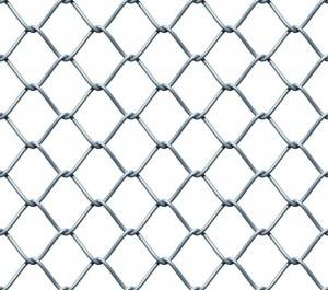 Factory sale 6ft black chain link fence