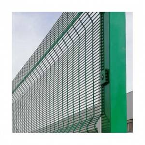 High Security powder coated 358 Anti Climb security Fence