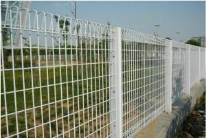 Low price Hot Dipped Galvanized BRC welded wire mesh fence