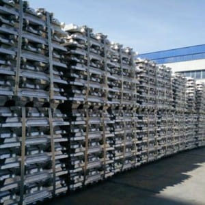 Professional China Purity 99.7% 99.9% Aluminum Ingots