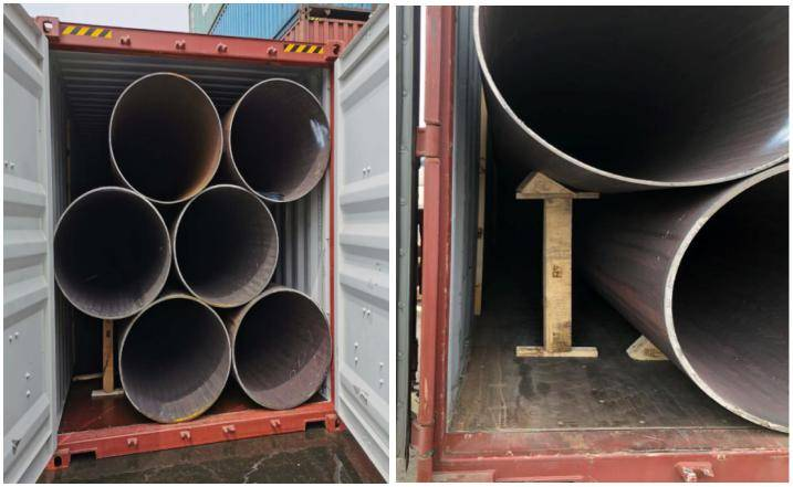 LSAW Pipes for Phase 2 Residential Foundation Pile Project
