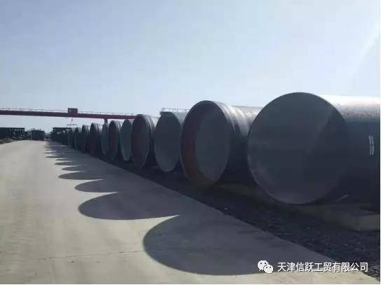 DN2000 Ductile Iron Pipe Delivered Successfully