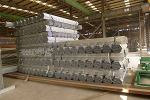 Hollow karolo Galvanized Steel Pipe ea pele galvanized tšepe phala