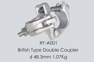 Perancah douple Coupler