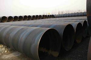 SSAW steel pipe  Low Pressure Pipe