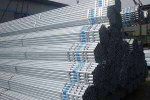 Hollow seksyon Galvanized Steel Pipe hot dipped galvanized pipe