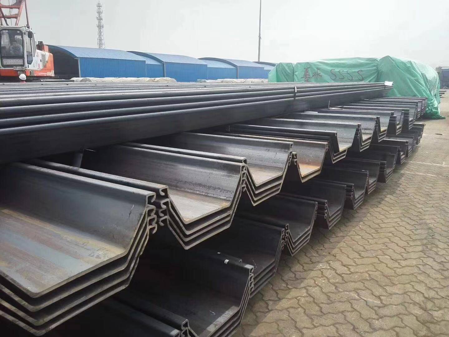 Sheet Piles for Piling Project in KSA Shipped Successfully