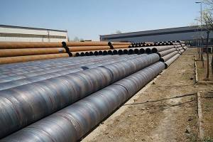 SSAW steel yeeb nkab carbon welded steel yeeb nkab