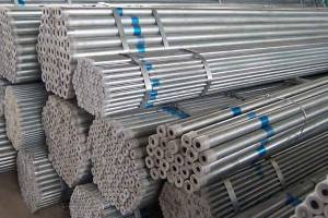 ສ່ວນ Hollow Galvanized Steel Pipe
