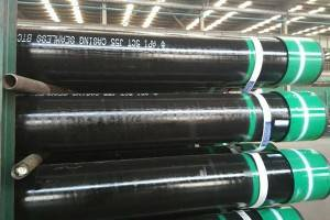 tub d'acer ERW Casing Pipe