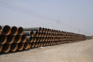 steel pipe SSAW pipe offshore