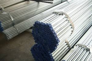 Hollow earrann Galvanised Steel Pìoba GI tube