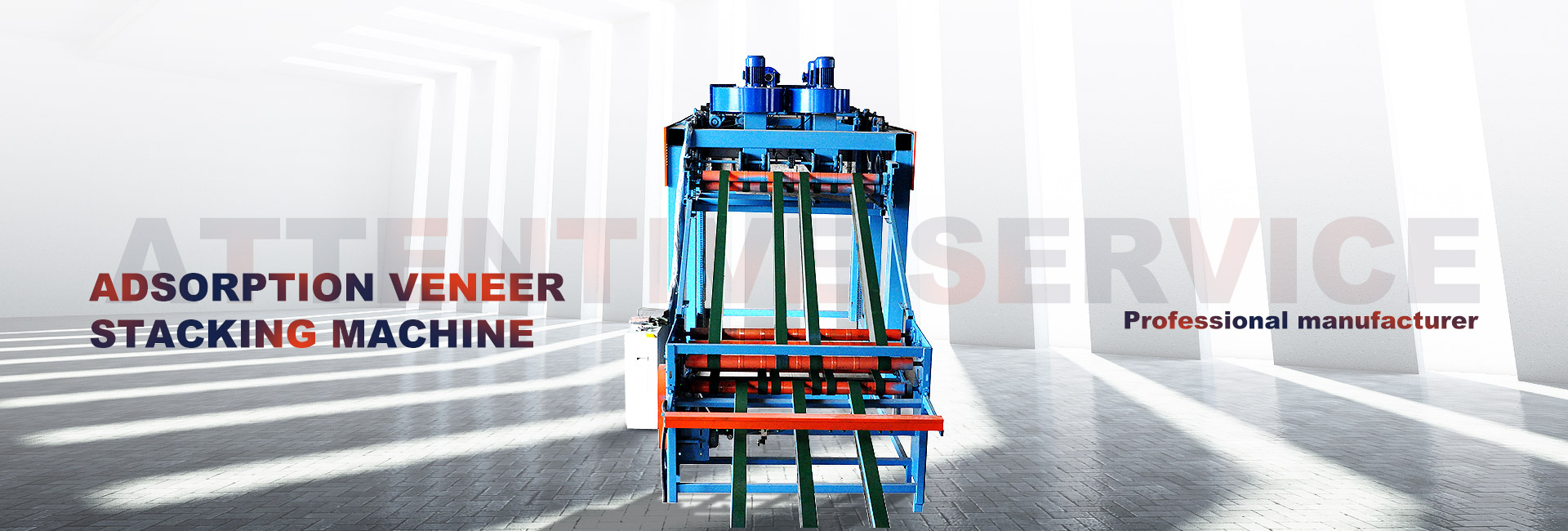 Adsorption Veneer Stacking Machine