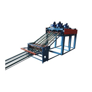 Plywood veneer adsorption stacking machine
