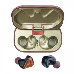 TWS wooden earphone X13