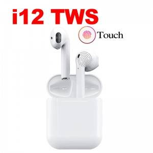 trending macaroon colors tws wireless earphone i12