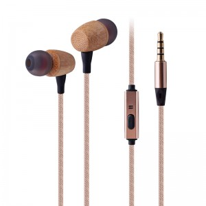 Wooden Earphone