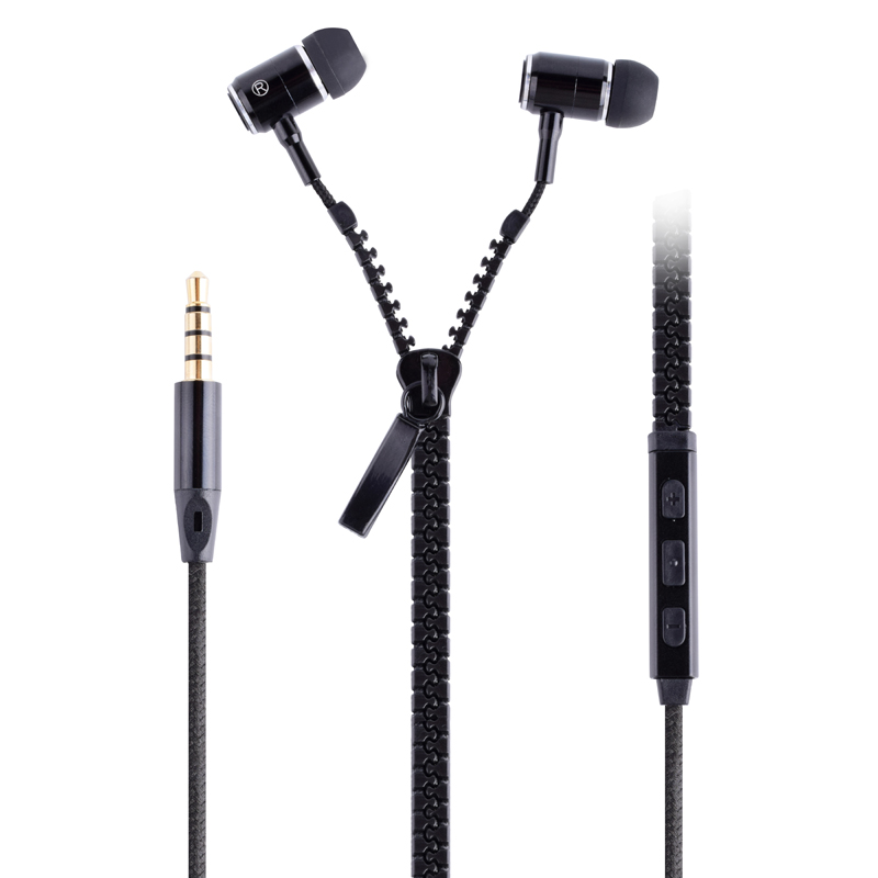 2019 Good Quality Zipper Earphones Quality -